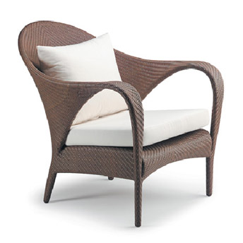 tango lounge chair by dedon from contemporary home