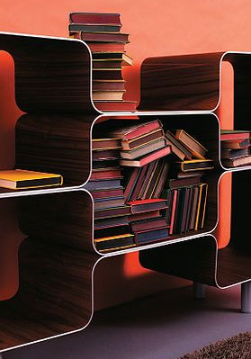 Contemporary Bookcases  from contemporary-home.co.uk