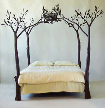 Cool A tree bed  from contemporary-home.co.uk