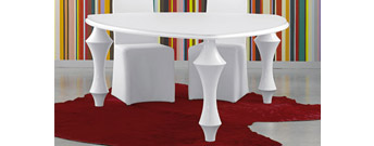 Loft Triangular Table by Antonello Italia