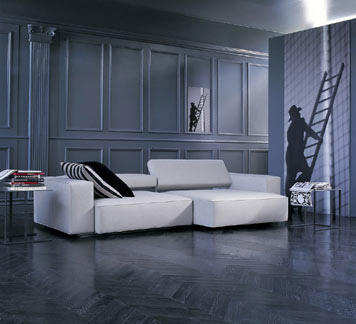andy sofa by b b italia from contemporary home. Black Bedroom Furniture Sets. Home Design Ideas