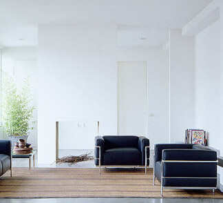 The Famous LC3 Armchair Le Corbusier From Cassina