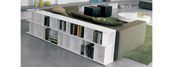 Wally Modular Bookcase by Cattelan Italia