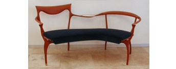 D R D P bench by Ceccotti