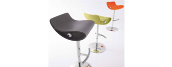 Momo Swivel Stool by Compar