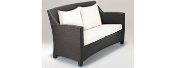 Barcelona 2 Seater Sofa by Dedon- From Contemporary Home :  luxury european contemporary home modern