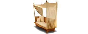 Daydream Four Poster Daybed by Dedon