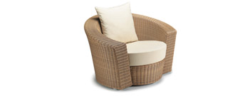 Hemisphere Lounge chair by Dedon- From Contemporary Home :  luxury european chair contemporary home