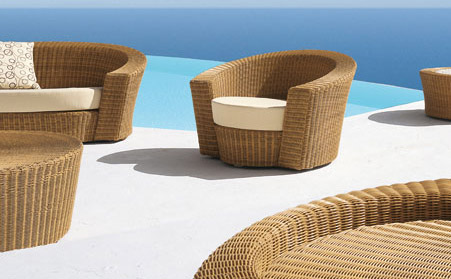 Modern Designer Furniture Blog: Hemisphere Lounge chair from Dedon :  interior design designer chair furniture design