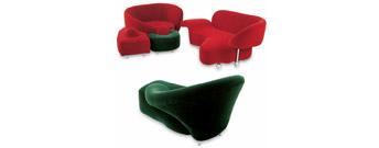 Angels Upholstered Seating by Edra