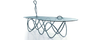 Capriccio Table by Edra- From Contemporary Home :  luxury designer european contemporary home