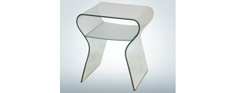Charlotte Comodino Bedside Table by Fiam Italia