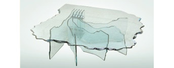 Shell Coffee Table by Fiam Italia