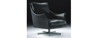 BOSS Swivel Armchair by Flexform