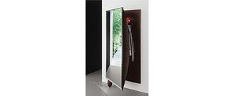 L'Uovo Mirrored Coat Rack by Gallotti & Radice