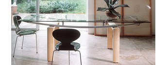 Monday W Table by Gallotti & Radice