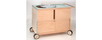 Olo Drinks Trolley by Giorgetti