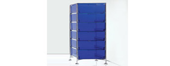 Mobile 6 Drawers by Kartell