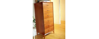 Tecno Tall Chest of Drawers by La Falegnami