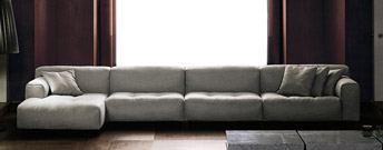 Softwall Sofa by Living Divani
