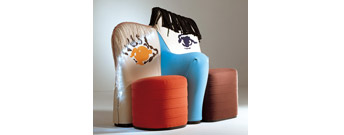 Us and Them Sofa by Meritalia