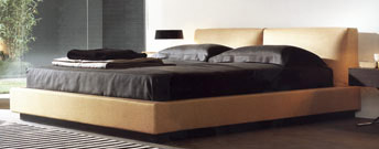 Victor bed by Poliform