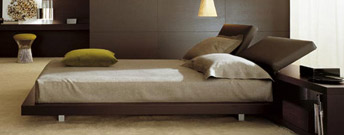 Zoe Bed by Poliform