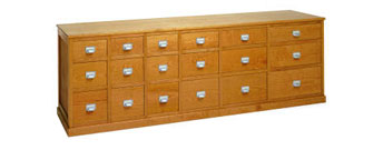 Boston Chest of Drawers by Riva 1920