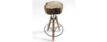 Brichello Stool by Riva 1920