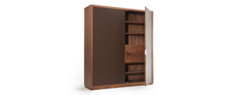 Panama Leather wardrobe by Riva 1920