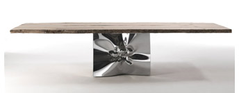 Riflessi In Laguna Table by Riva 1920