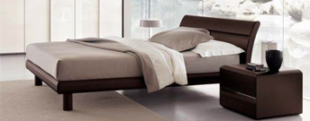 Basic Wood Bed by SMA